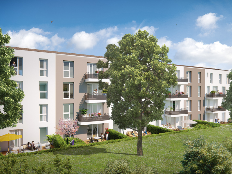 Appartement neuf, 69,15 m²
