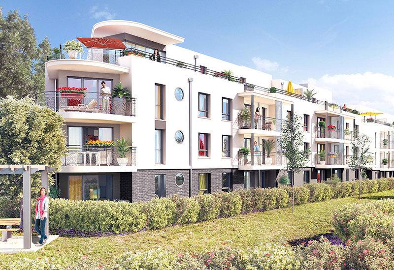 Appartement neuf, 66,67 m²