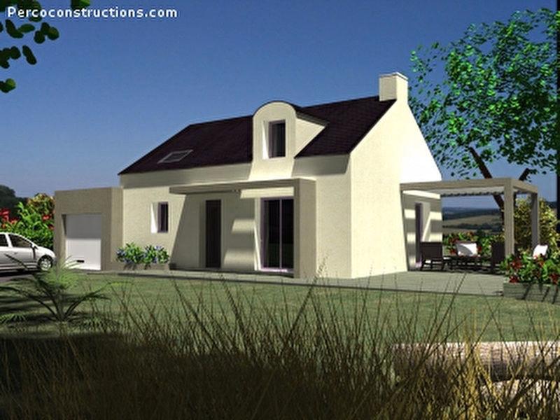 Maison neuve, 85,78 m²