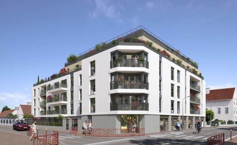 Appartement neuf, 61,37 m²