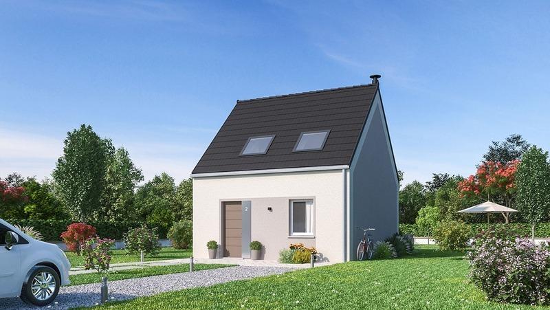 Maison neuve, 67 m²