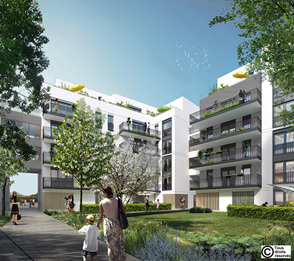 Appartement neuf, 53,45 m²