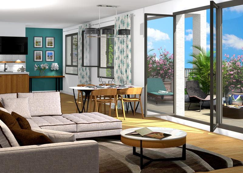 Appartement neuf, 63,63 m²