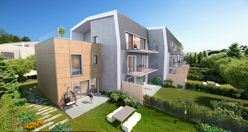 Appartement neuf, 26,1 m²