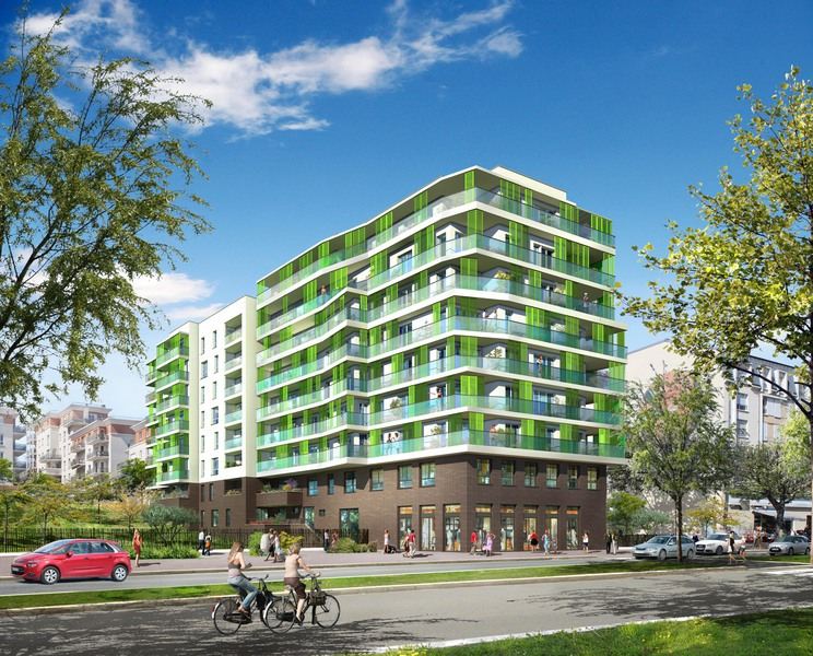 Appartement neuf, 62,8 m²