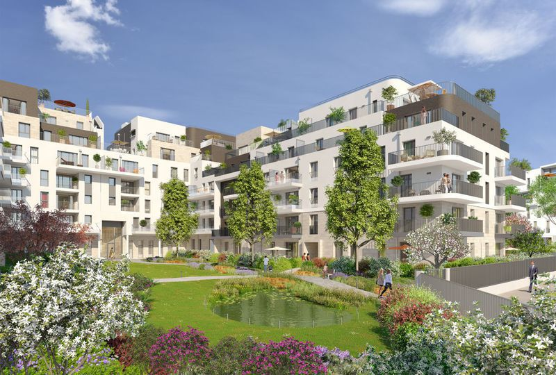 Appartement neuf, 44,4 m²