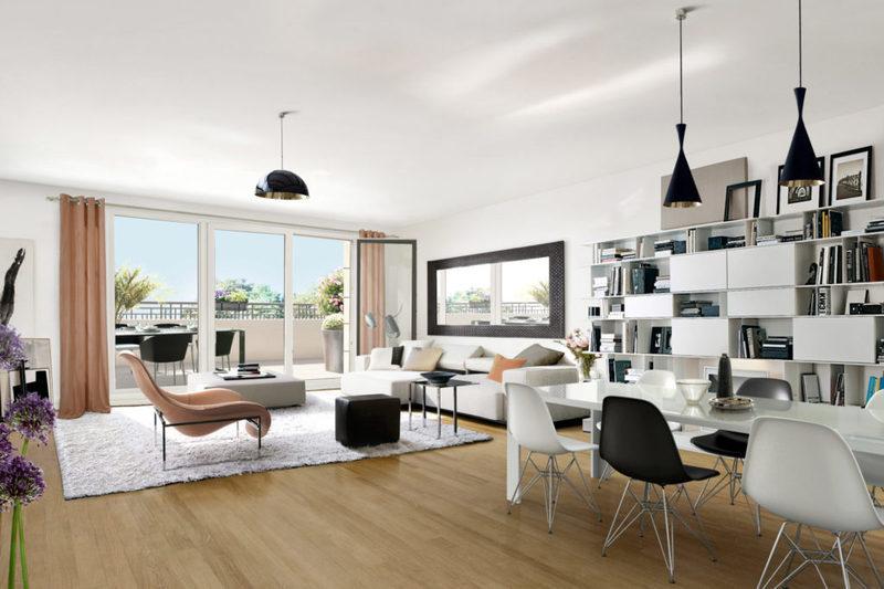 Appartement neuf, 59,38 m²